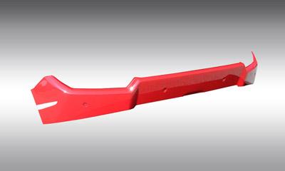 Задний бампер (под диффузор) Novitec для Lamborghini Huracan LP 570