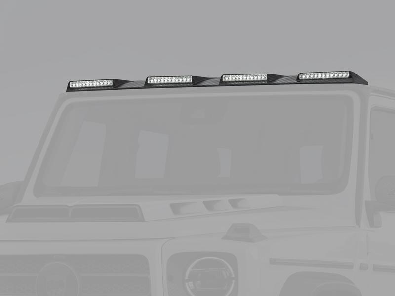 Накладка на крышу с LED-оптикой