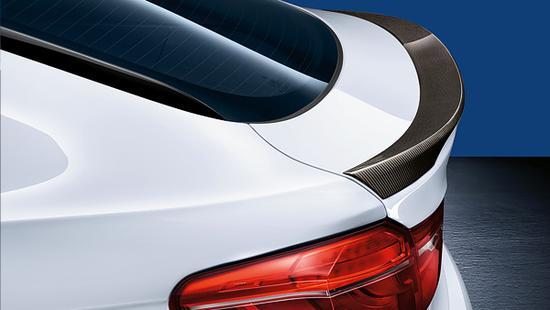 Задний спойлер (карбон) M Performance для BMW X6 F16 (код 51622356919)