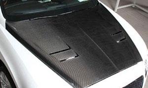 Капот (карбон) Mansory для Bentley Continental GT II