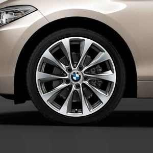 Легкосплавное дисковое колесо (V-образные спицы) 387 для BMW 2 Series F22 (код 36116869801)