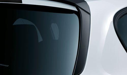 Задние плавники (черные матовые) M Performance для BMW 1 Series F20/F21 (код 51192211893)
