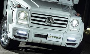 Передний бампер (с LED-оптикой) Branew для Mercedes G-class W463