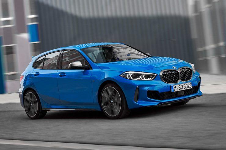 Решетка радиатора M-Sport для BMW 1 Series F40