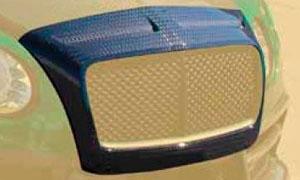 Окантовка решетки радиатора Race (карбон) Mansory для Bentley Continental GT II