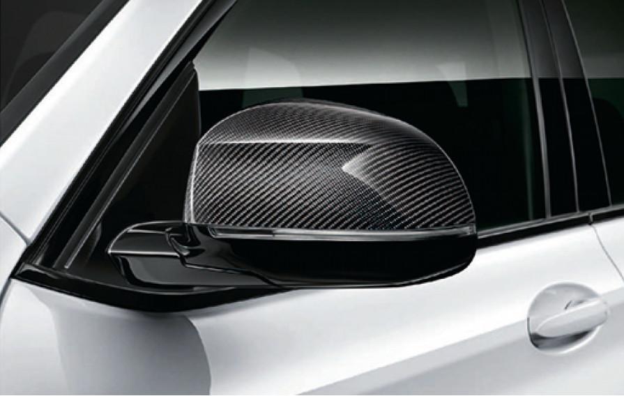 Правый обтекатель наружного зеркала (карбон) M Performance для BMW X5 G05 (код 51162446964)
