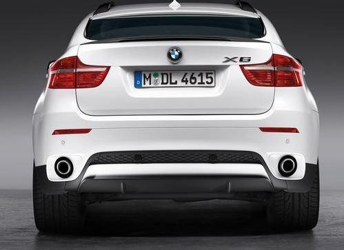 Нижняя облицовка заднего бампера для BMW X6 E71 (код 51122159360)