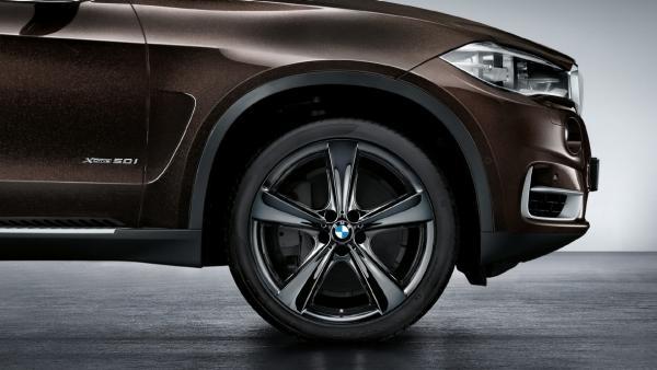 Легкосплавное дисковое колесо (звездообразные спицы) 128 для BMW X6 F16 (код 36116859426)