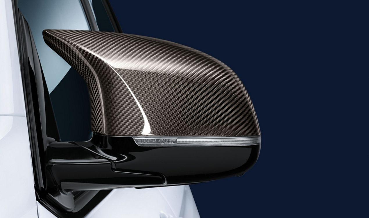 Обтекатель наружного зеркала (карбон) M Performance для BMW X6 F16 (код 51162361521)