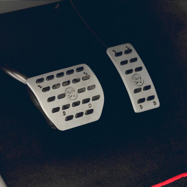 Алюминиевые накладки на педали