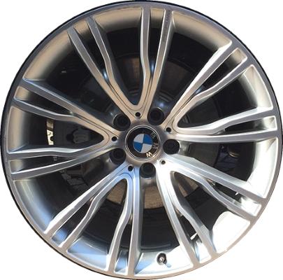 Легкосплавный колесный диск Individual (V-образные спицы) 551 для BMW X6 F16 (код 36117847311)