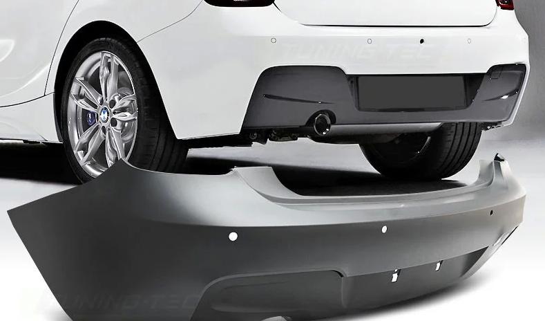 Задний бампер M Sport для BMW 1 Series F20