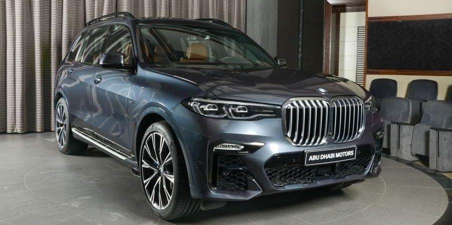 BMW X7 может стать водородным автомобилем