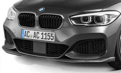 Накладки на передний бампер AC Schnitzer M-Sport (рестайлинг) для BMW 1 Series F20