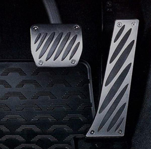 Накладки на педали (алюминиевые) для BMW 1 Series E82/E88