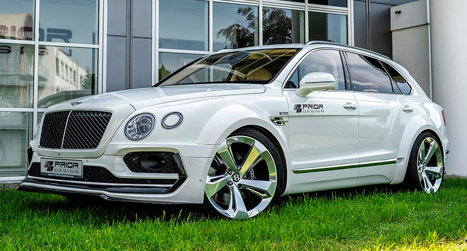 Тюнинг Prior Design для Bentley Bentayga