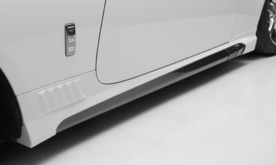 Пороги WALD Black Bison для Rolls-Royce Wraith