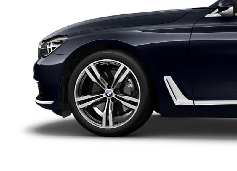 Легкосплавный колесный диск (сдвоенные спицы) 648 M для BMW 7 Series G11/G12 LCI