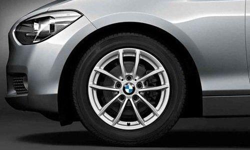 Легкосплавное дисковое колесо (V-образные спицы) 378 для BMW 1 Series F20/F21