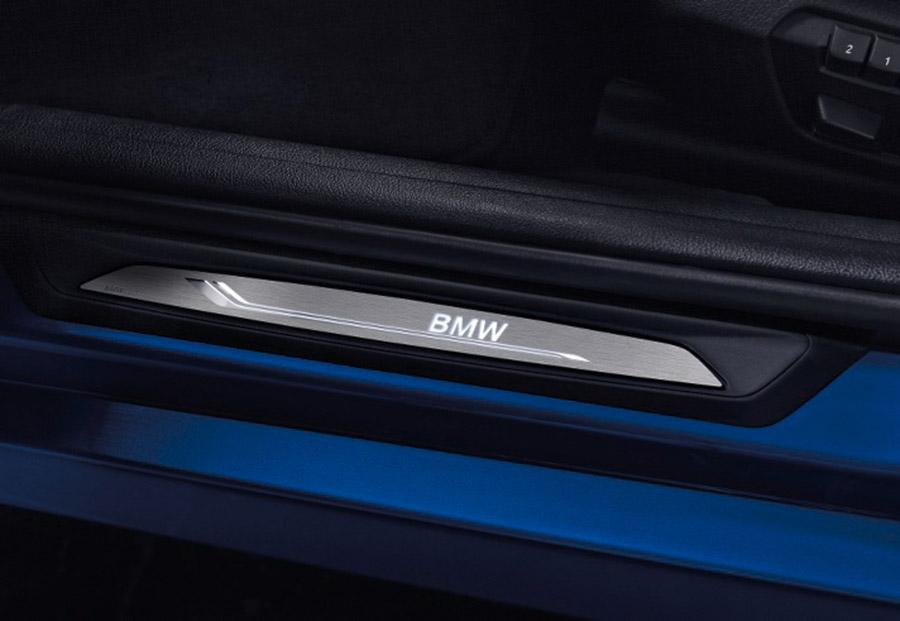 Светодиодные защитные молдинги порога для BMW 1 Series F20/F21