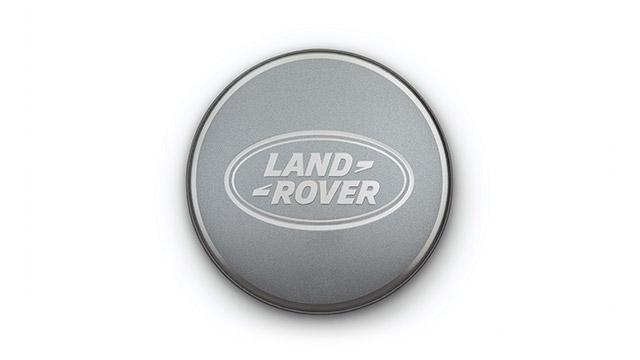 Колпачок колесного диска Satin Silver / Bright Aluminium для Range Rover Evoque