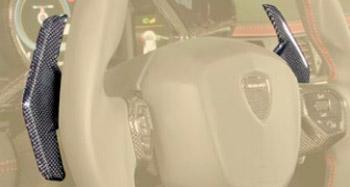 Подрулевые лепестки (карбон) Mansory для Lamborghini Urus