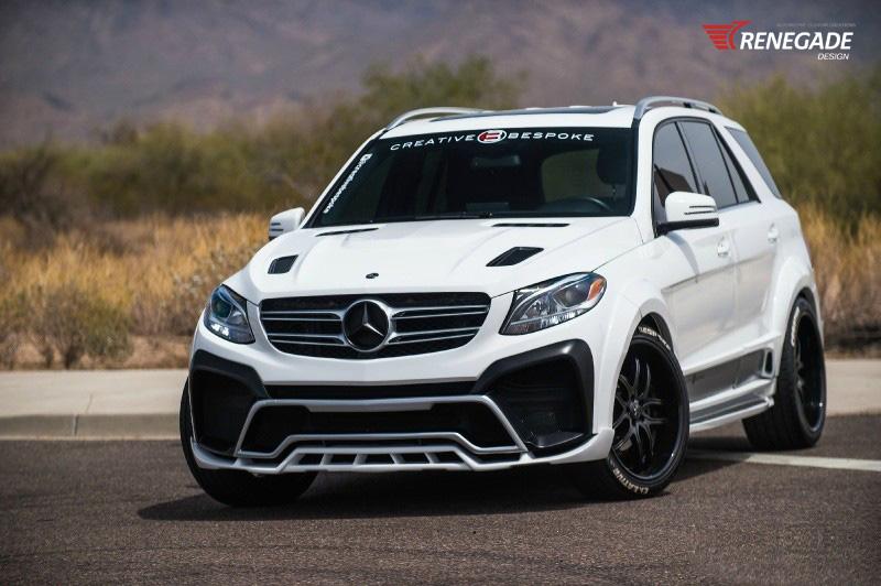 Обвес Renegade для Mercedes GLE
