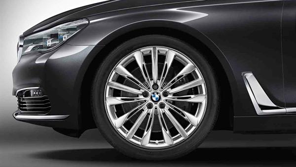 Легкосплавный колесный диск (W-образные спицы) 646 для BMW 7 Series G11/G12 LCI