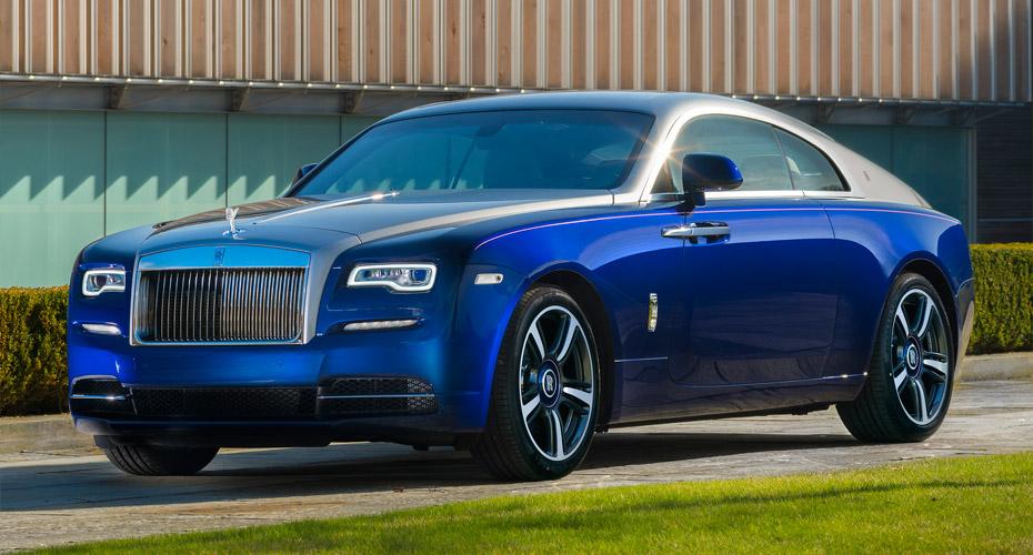 Рестайлинг (в 2016 модельный год) Rolls-Royce Wraith