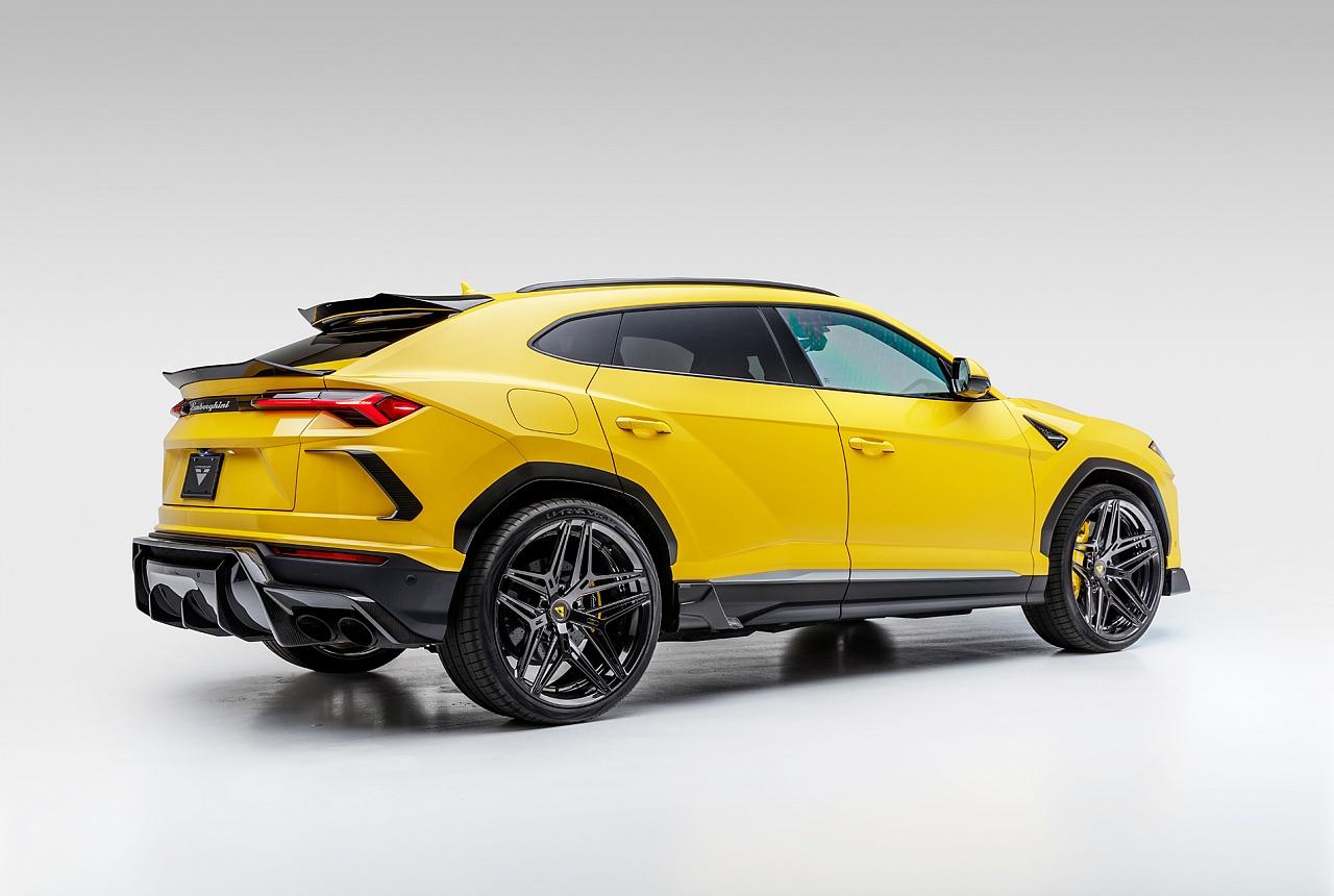 Расширители задних крыльев (карбон) Vorsteiner для Lamborghini Urus