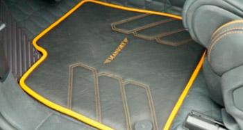 Коврики в салон Mansory для Lamborghini Urus