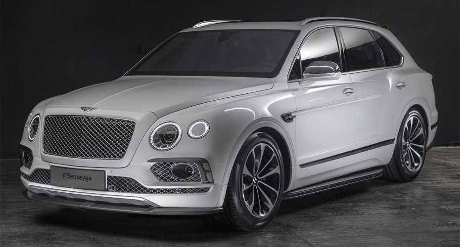 Карбон-пакет для Bentley Bentayga