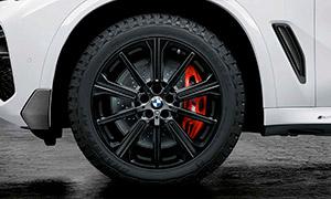 Колесный диск 748M (звездообразные спицы) R20 M Performance для BMW X6 G06