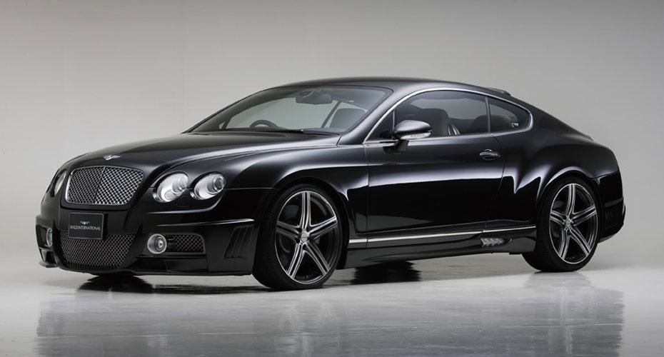 Тюнинг WALD Black Bison для Bentley Continental GT