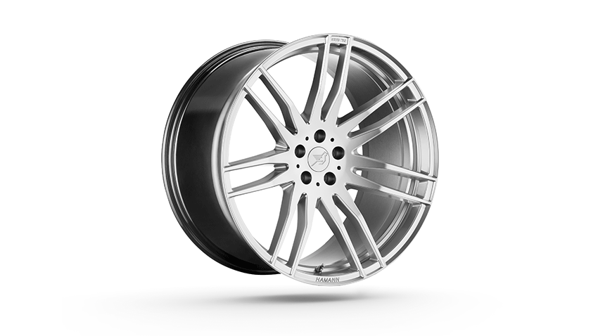 Комплект дисков Hamann CHALLENGE HYPER SILVER 22 для Porsche Macan