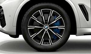 Колесный диск 740M (звездообразные спицы) R20 M Performance для BMW X6 G06