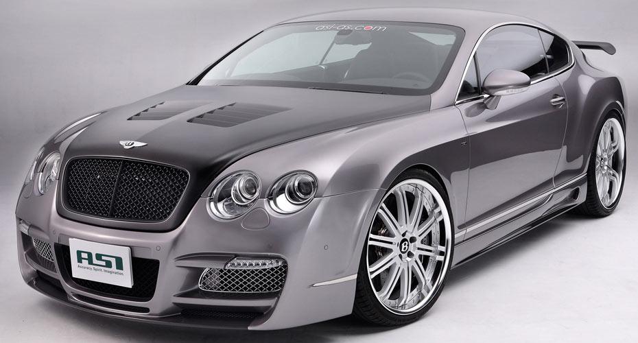 Тюнинг ASI для Bentley Continental GT