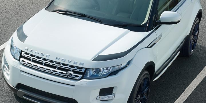 Наклейка для капота для Range Rover Evoque