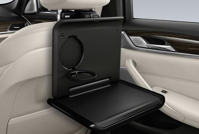 Накопительный стол (черный) Travel & Comfort для BMW X5 G05