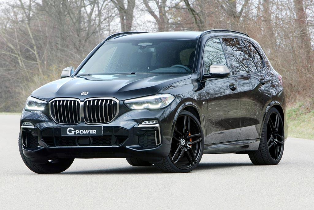 """Новому BMW X5 G05 добавили """"лошадок"""""""