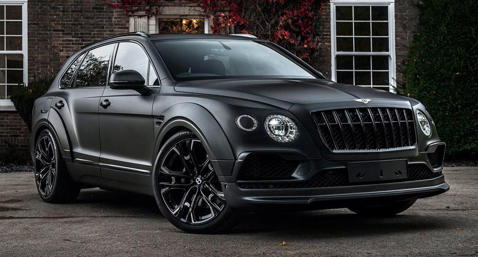 Тюнинг Kahn Design для Bentley Bentayga