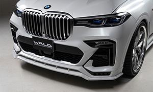 Накладка на передний бампер (с LED-оптикой) WALD для BMW X7 G07