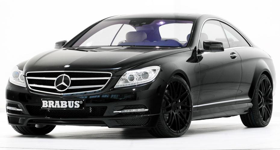 Аэродинамический обвес Brabus (рестайлинг) для Mercedes S-class Coupe C216