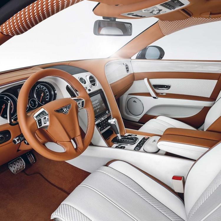 Деревянные декоративные элементы салона Startech для Bentley Flying Spur 2016-