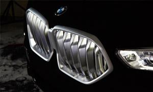 Решетка радиатора Iconoc Glow M Performance для BMW X6 G06