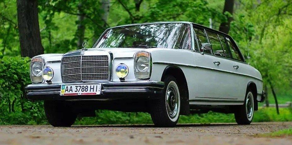 В Украине продается раритетный автомобиль Mercedes W115 Lang