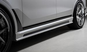 Пороги WALD для BMW X7 G07