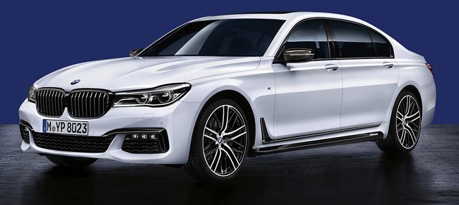 Аэродинамические принадлежности M Performance для BMW 7 Series G12