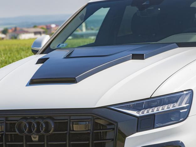Капот под покраску LUMMA для Audi Q8 S
