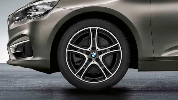 Легкосплавный колесный диск (сдвоенные спицы) 361 для BMW 1 Series F40
